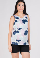 SALE Azrael Prints Nursing Top  by Jump Eat Cry - Maternity and nursing wear