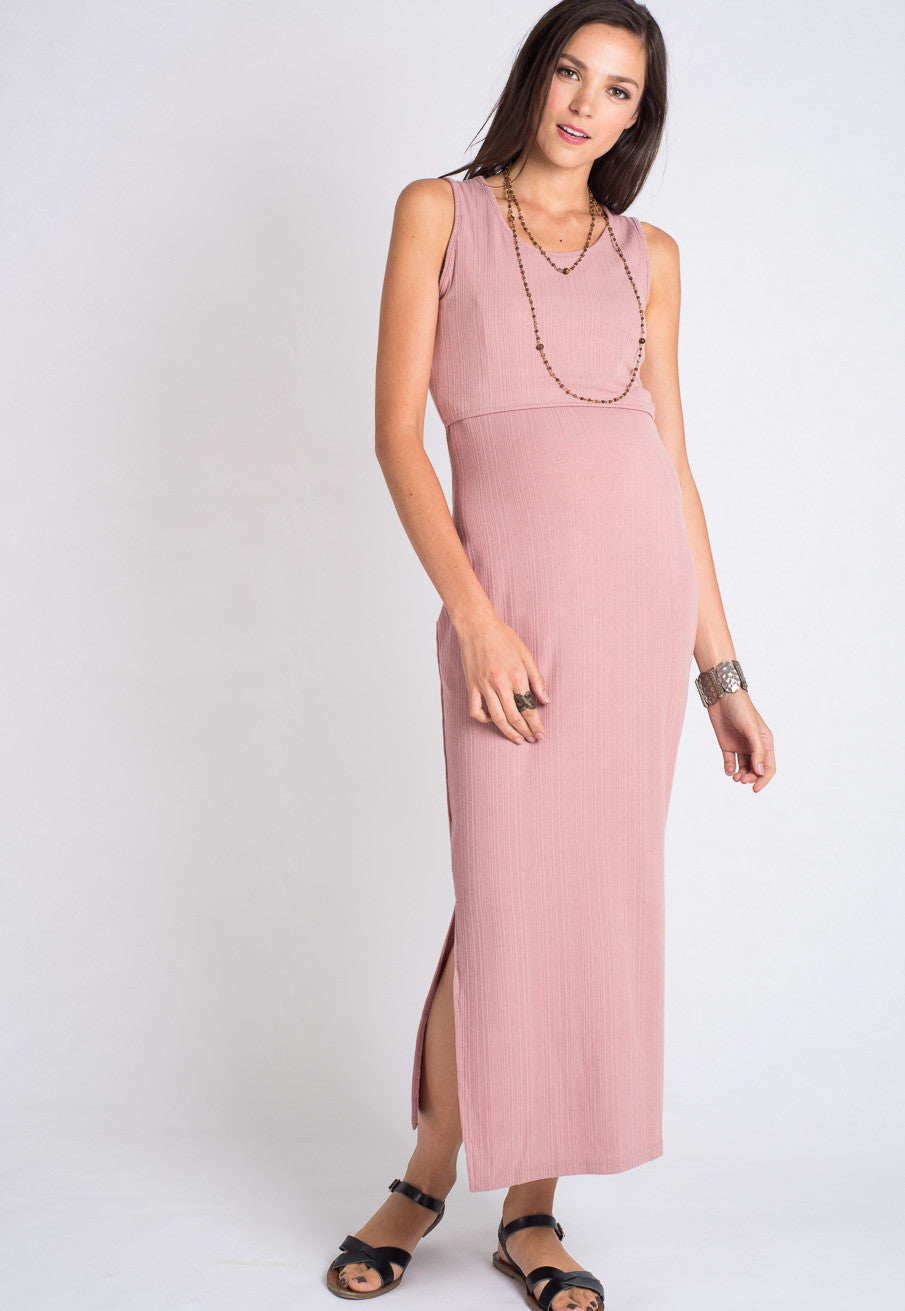 Mothercot Bella Maxi Nursing Dress  - Maternity and nursing wear
