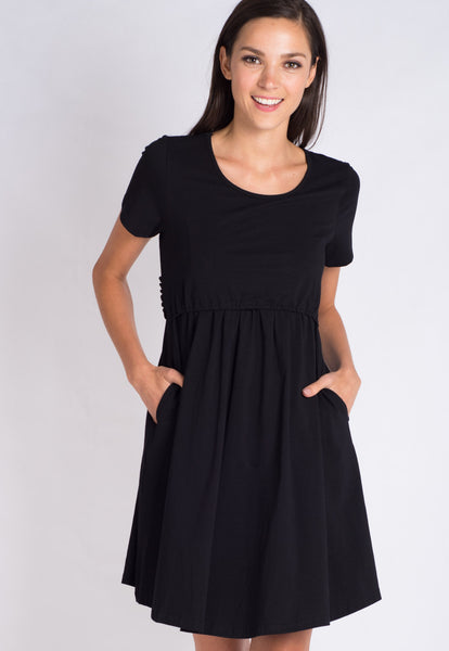 Black Sydney Nursing Dress