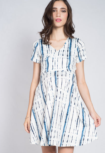 Break It Down Nursing Wrap Dress