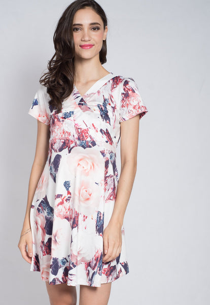 Floral Love Nursing Dress
