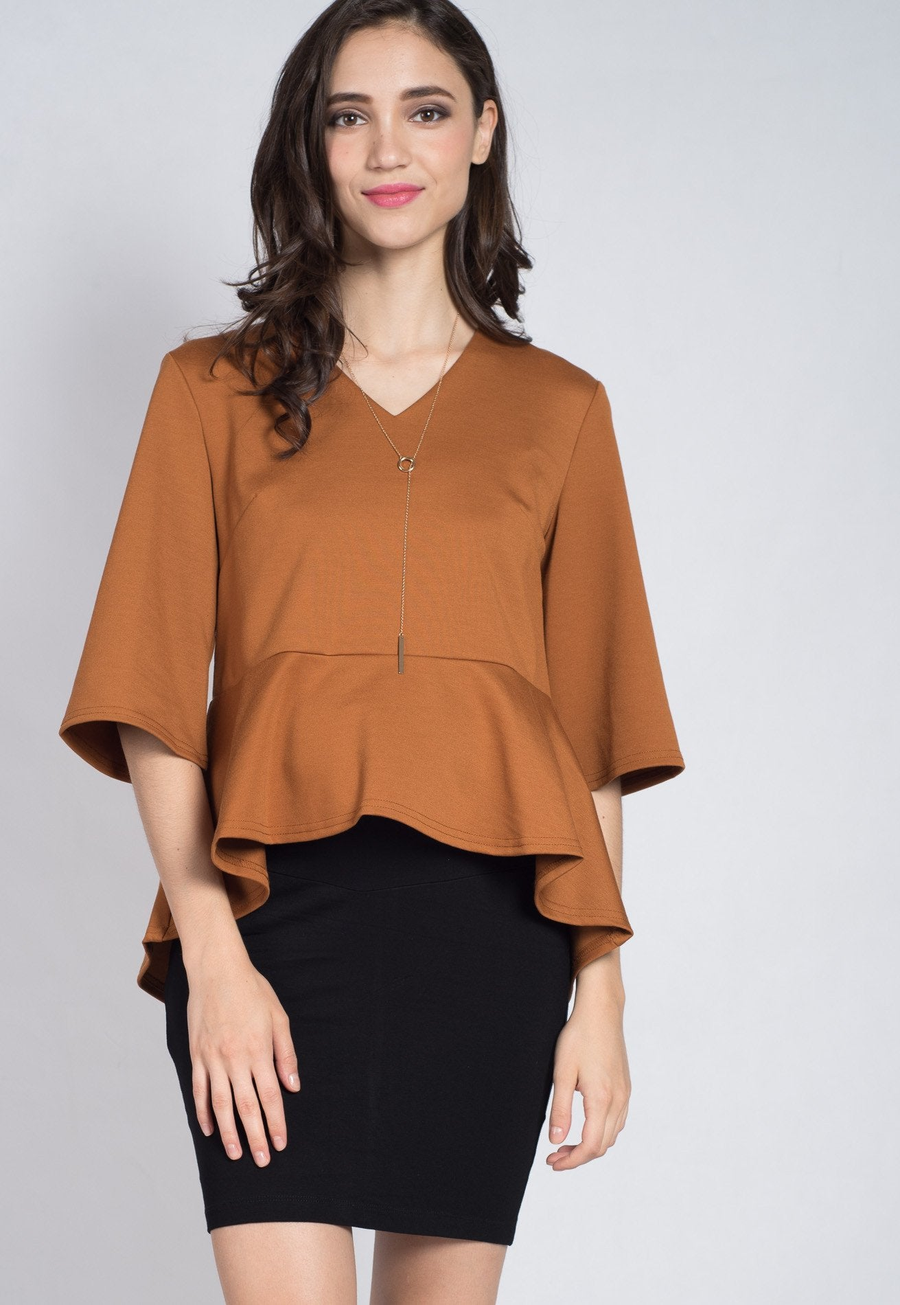SALE Flare Sleeves Nursing Top  by Jump Eat Cry - Maternity and nursing wear