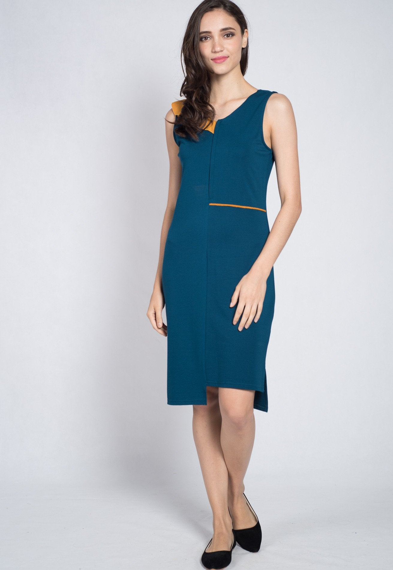 SALE Forest Aerial Frills Nursing Dress  by Jump Eat Cry - Maternity and nursing wear