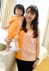 SALE Ella Colour Block Nursing Top  by JumpEatCry - Maternity and nursing wear