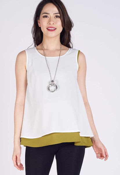 SALE Nova 2 Tone Nursing Top