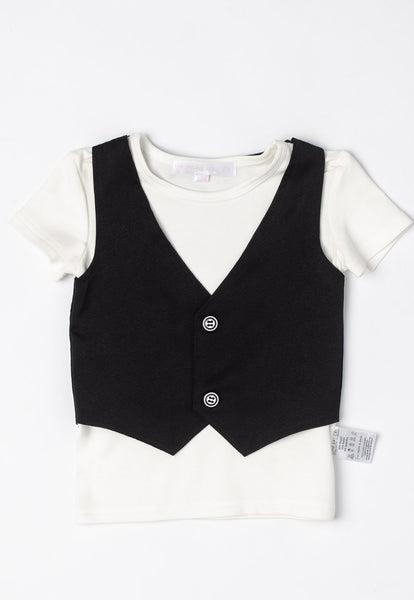 Aiden Vest Boy Shirt