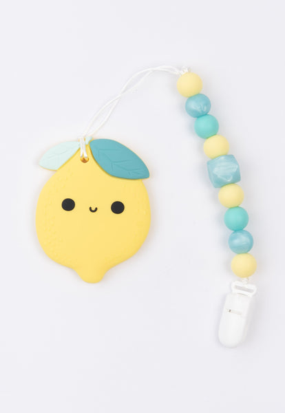 Little Bearnie Baby Teething Clip Set - Cute Cute Lemon