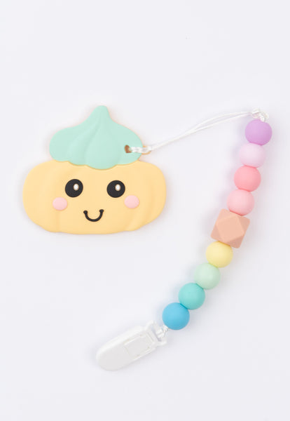 Little Bearnie Baby Teething Clip Set - Gem Biscuit (Mint)