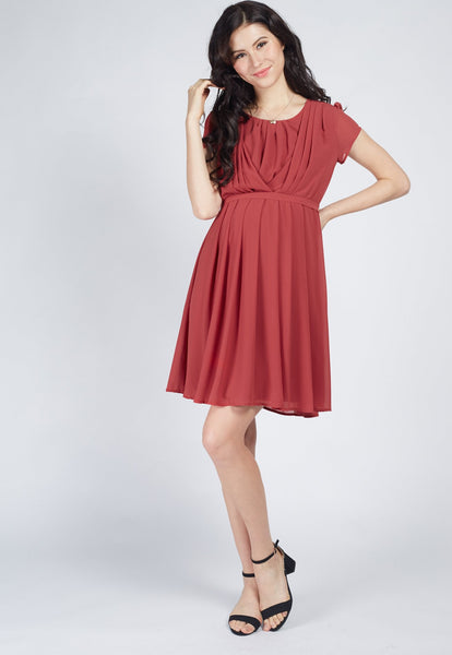 Playful Romance Nursing Dress