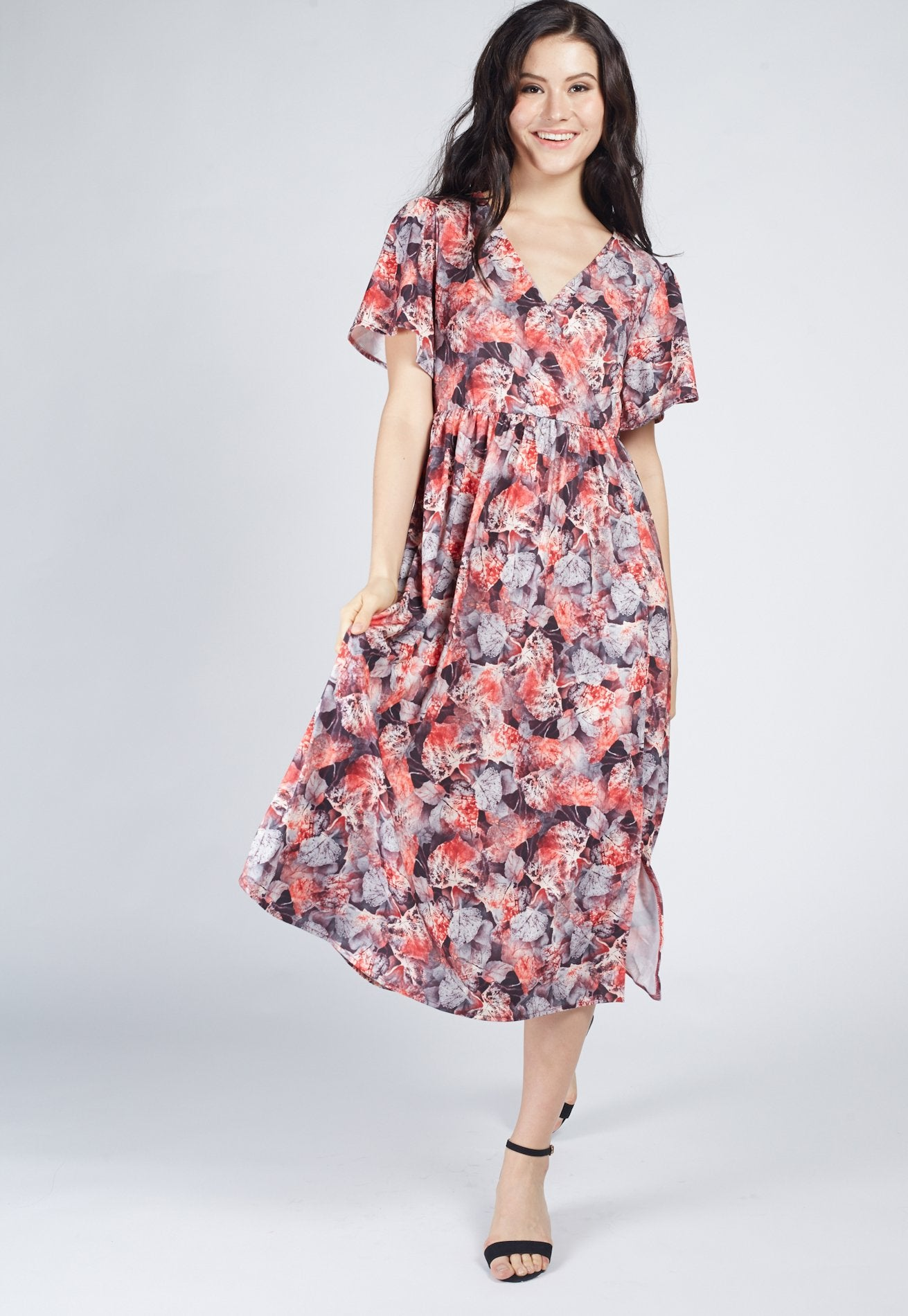 96df9d4acf5 SALE Floral Style Nursing Dress by Jump Eat Cry - Maternity and nursing wear