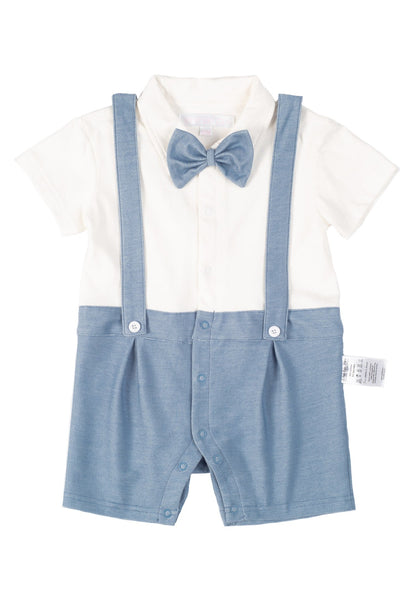 Kyle Overall Boy Romper