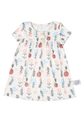 Lucy Printed Baby Girl Dress Matching Sets Mothertots
