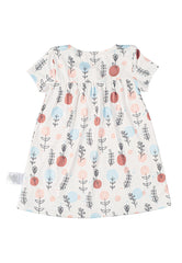 Lucy Printed Baby Girl Dress  by Jump Eat Cry - Maternity and nursing wear