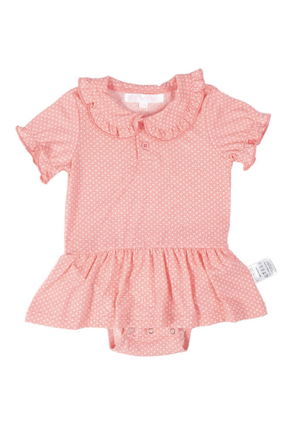 Lulu Polka Dot Girl Romper Dress
