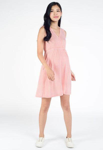 Lulu Polka Dot Nursing Dress