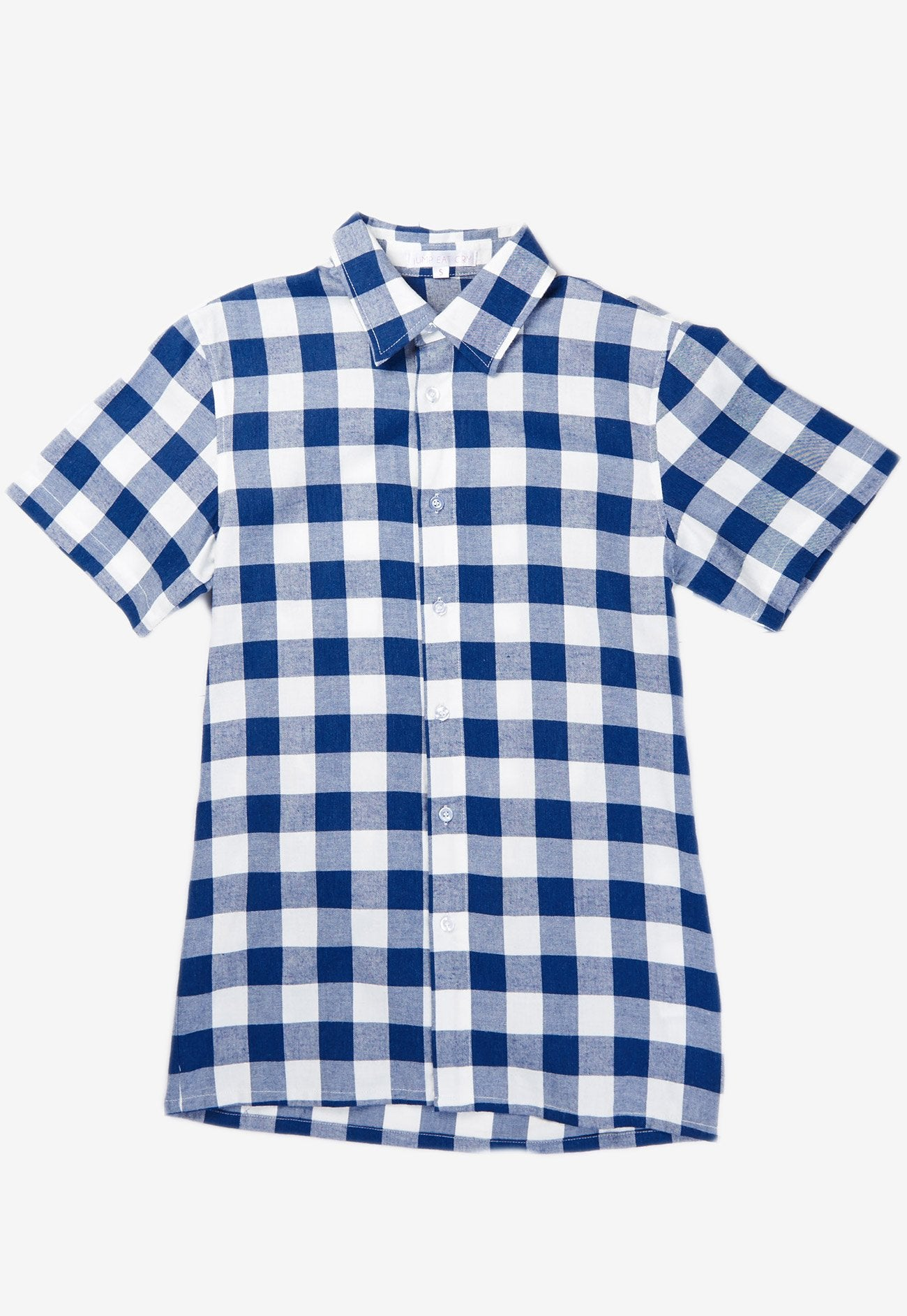 Elliott Plaids Men Shirt  by Jump Eat Cry - Maternity and nursing wear
