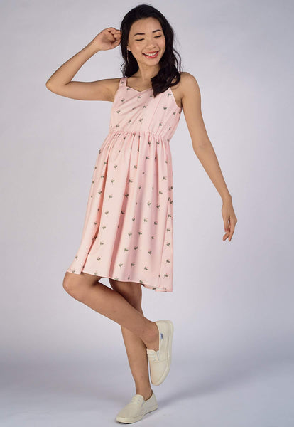 Sandra Prints Nursing Dress