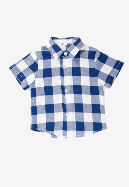 Elliott Plaids Boy Shirt