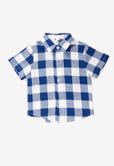 Elliott Plaids Boy Shirt  by Jump Eat Cry - Maternity and nursing wear