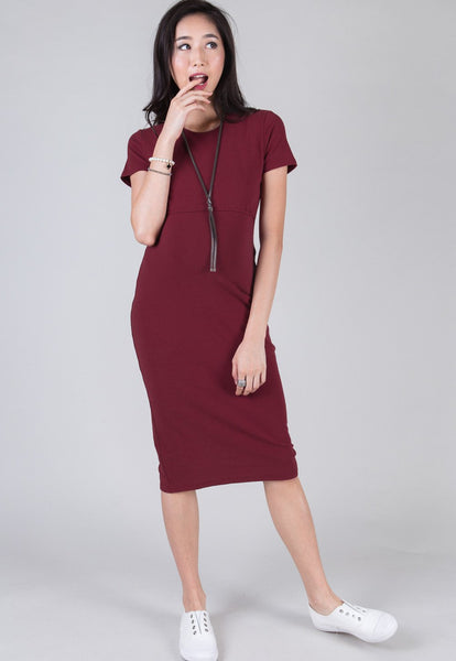 Ruby Midi Bodycon Nursing Dress
