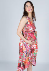 Mothercot SALE Chiara Office Nursing Wrap Dress  by JumpEatCry - Maternity and nursing wear