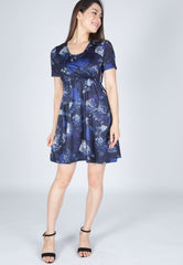 Lola Prints Nursing Dress