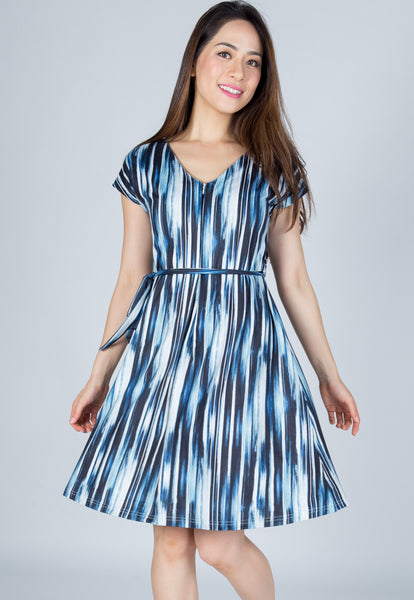 Ava Prints Nursing Dress