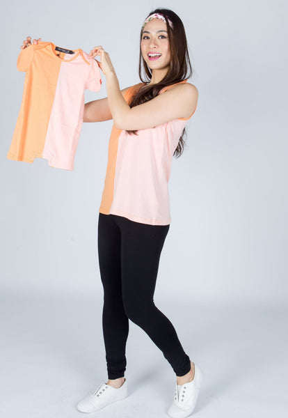 Ella Colour Block Nursing Top
