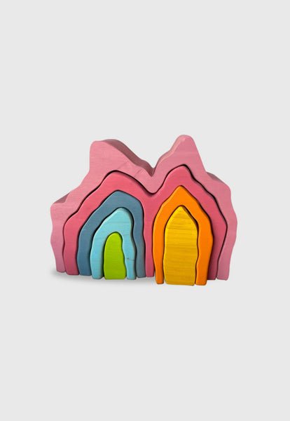 Enstories Whimsical Mountain Stackers