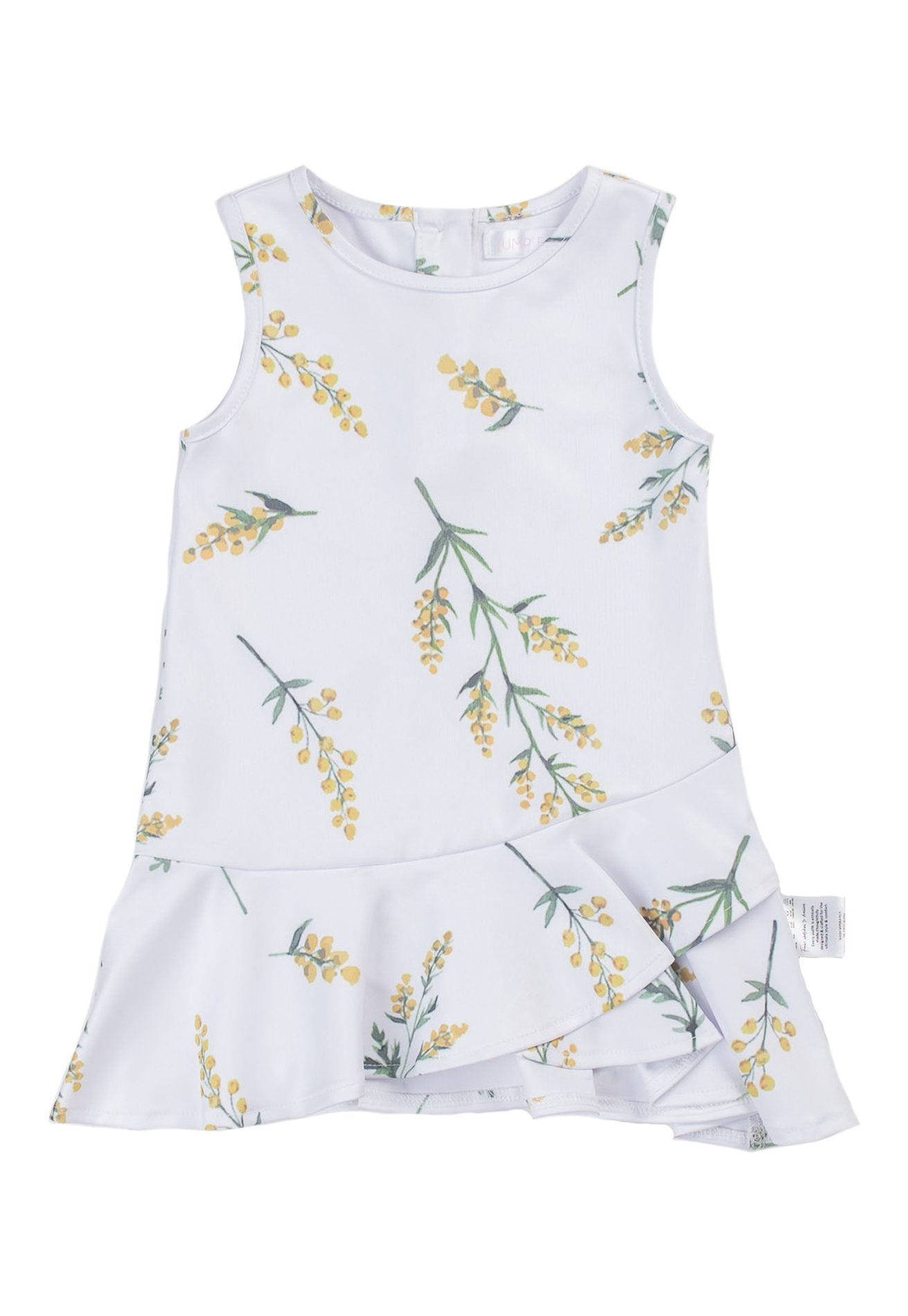 Olivia Printed Flowers Girl Dress Matching Sets Jump Eat Cry