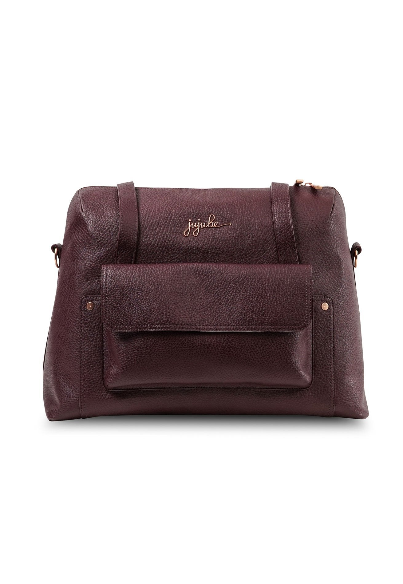 Jujube Wherever Weekender - Plum Rose Gold  by Jump Eat Cry - Maternity and nursing wear