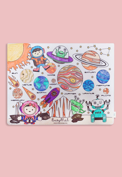 Busy Mat Large Placemat - Space N Bots