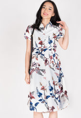Swara Prints Midi Nursing Dress Nursing Wear Mothercot