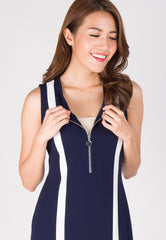 Urban Bodycon Nursing Dress in Navy  by Jump Eat Cry - Maternity and nursing wear