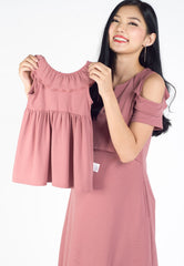 Valisa Girl Dress  by Jump Eat Cry - Maternity and nursing wear