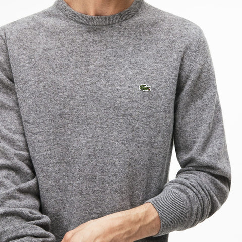 8ddb999da53f7 CREW WOOL JERSEY - AH0841 00 GXT - Lacoste Sweaters at All In Store ...