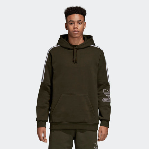 Adidas Originals-OUTLINE HOODIE-DH5780-Shirts