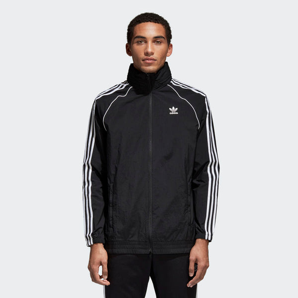 Men's SST Windbreaker/Black/(CW1309)