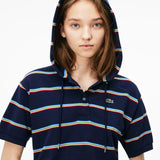 HOODED POLO DRESS - Lacoste - All In Store