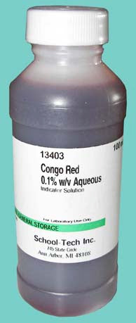 Congo red, indicator solution, 0.1% - 100ml