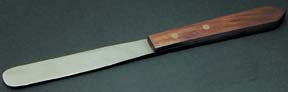 Stainless Steel Spatula w/ Wood Handle - 3""
