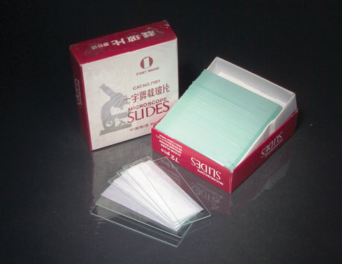 Microscope Slide - Plain (1/2 Gross per box)