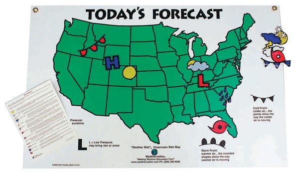 Weather Wall Map