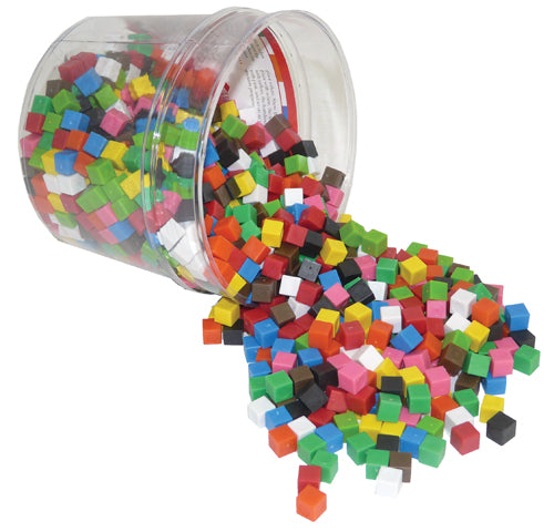 Centimeter Cubes - Set of 1000