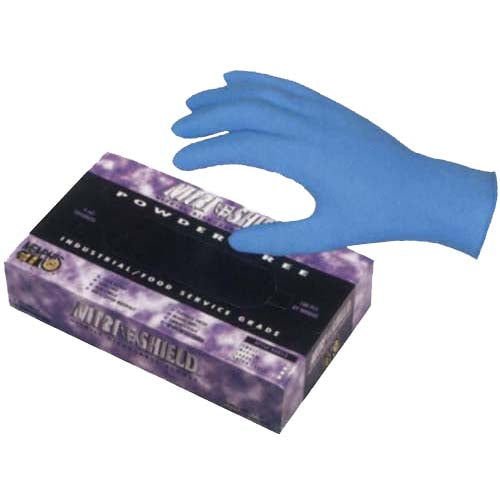 Nitrile Precision-Grip Gloves (Box of 100)
