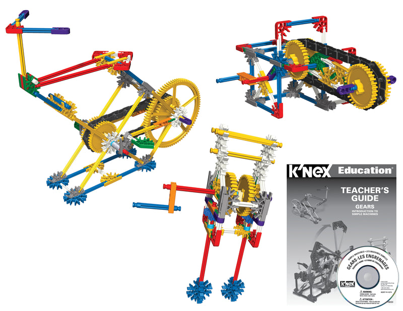 K'Nex Simple Machines Kit: Gears (Individual Set)