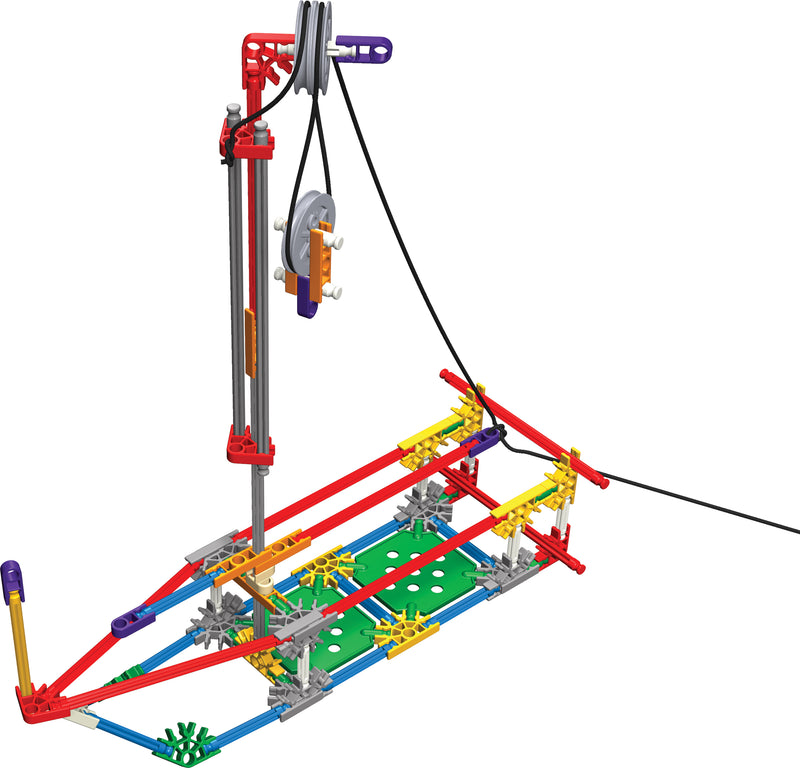 K'Nex Simple Machines Kit: Levers and Pulleys (Individual Set)