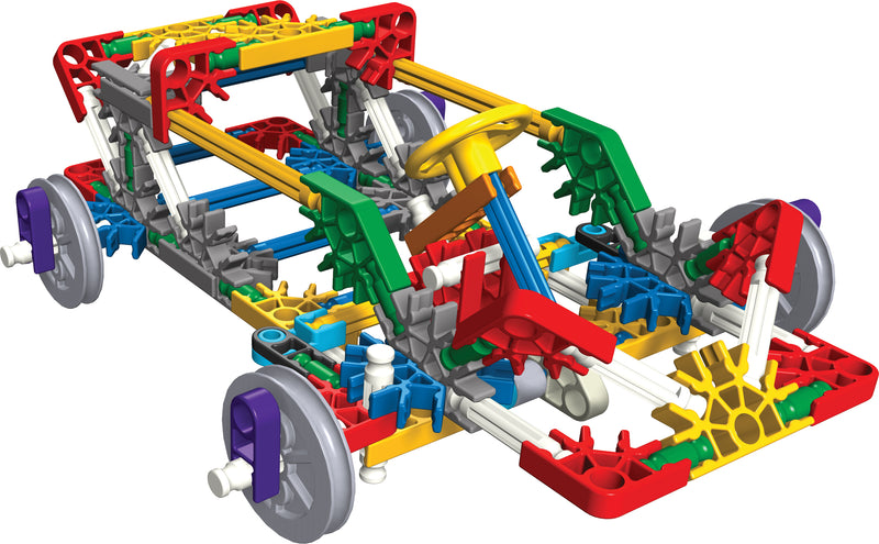 K'Nex Simple Machines Kit: Wheels, Axles and Inclined Planes (Individual Set)