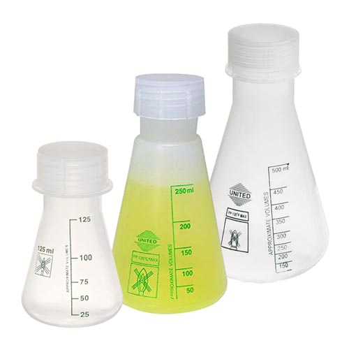 Erlenmeyer Flasks, Polypropylene