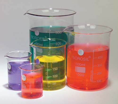 Glass Beaker Set (Set of 5)